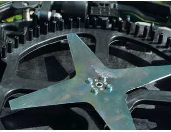Ambrogio L210 Robot rasaerba GreenLine - lama a 4 taglienti da 29cm