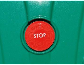 Ambrogio L210 Robot rasaerba GreenLine - tasto Stop di emergenza