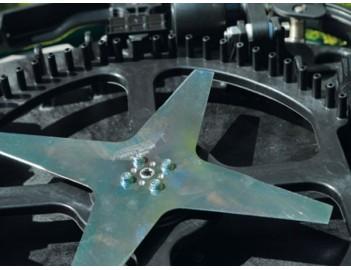 Ambrogio L85 Evolution Robot rasaerba GreenLine, lama di taglio