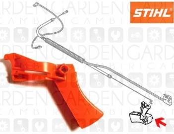 Stihl 41371821001 Grilletto comando gas