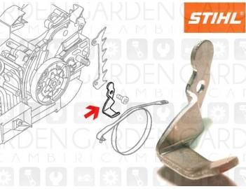 Stihl 11296567701 Staffa protezione catena