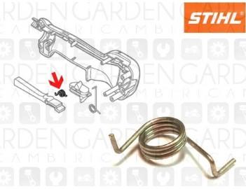 Stihl 41281824501 Molla sicura grilletto gas