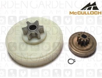 McCulloch 247764 ingranaggio + pignone elettrosega