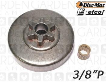 """Oleomac, Efco 50032009 Pignone 3/8""""P"""