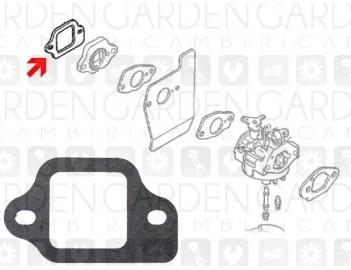 Honda 16212-ZL8-000 Guarnizione aspirazione ADATTABILE