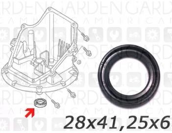 Honda 91202-ZL8-003 Paraolio albero motore //PT