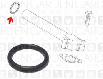 Briggs&Stratton 270344 anello gomma collettore //MM