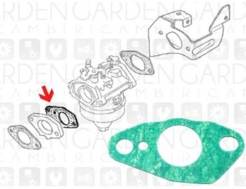 Honda 16221-887-800 Guarnizione aspirazione ADATTABILE