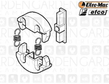 Oleomac, Efco 50160116 Frizione centrifuga